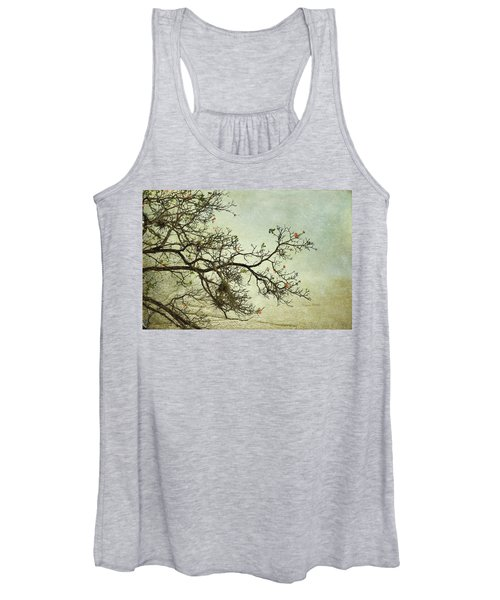 Nearly Bare Branches Women's Tank Top
