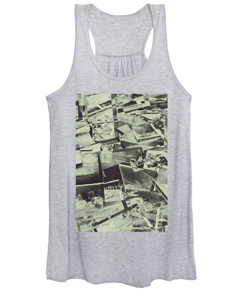 Negative Film Photo Background Women's Tank Top