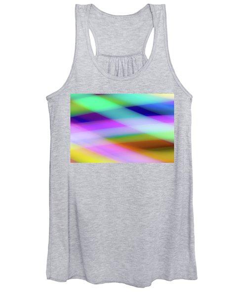Neon Crossing Women's Tank Top