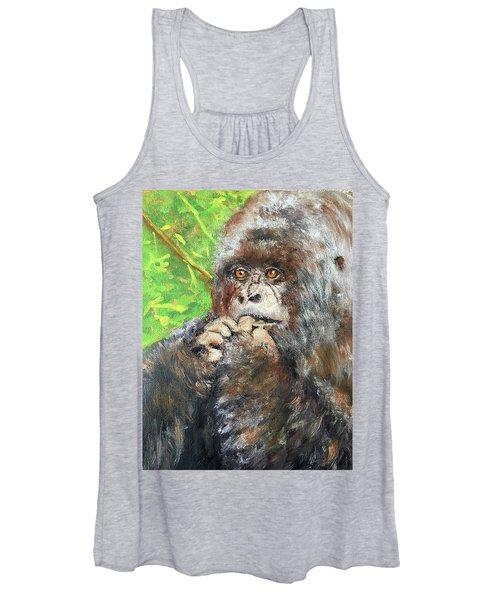 Nervous Mama Gorilla Women's Tank Top