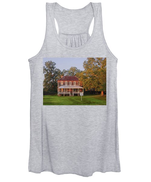 New Dawn On Old House Women's Tank Top