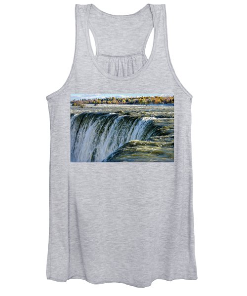 Niagara Falls In Autumn Women's Tank Top