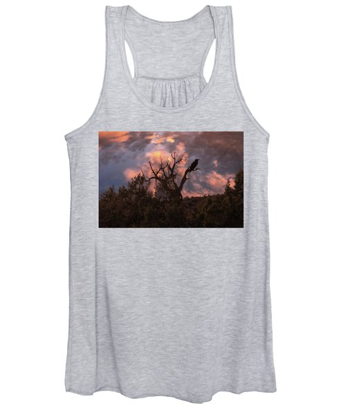 Night Of The Raven Women's Tank Top