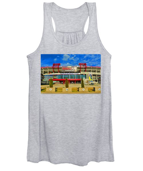 Nissan Stadium Home Of The Tennessee Titans Women's Tank Top