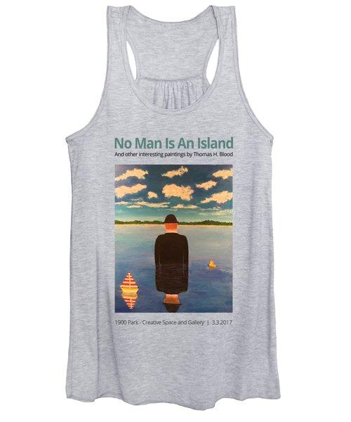 No Man Is An Island T-shirt Women's Tank Top
