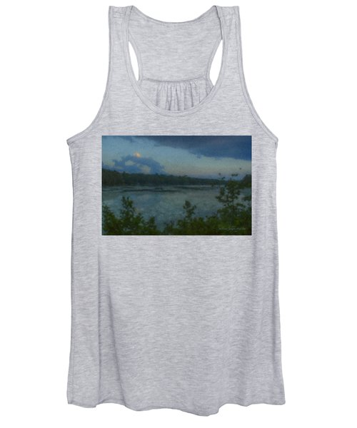 Nocturne At Ames Long Pond Women's Tank Top