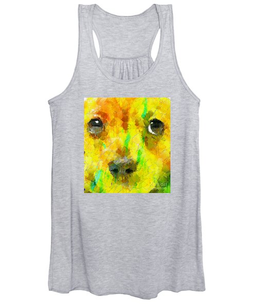 Noise And Eyes In The Colors Women's Tank Top