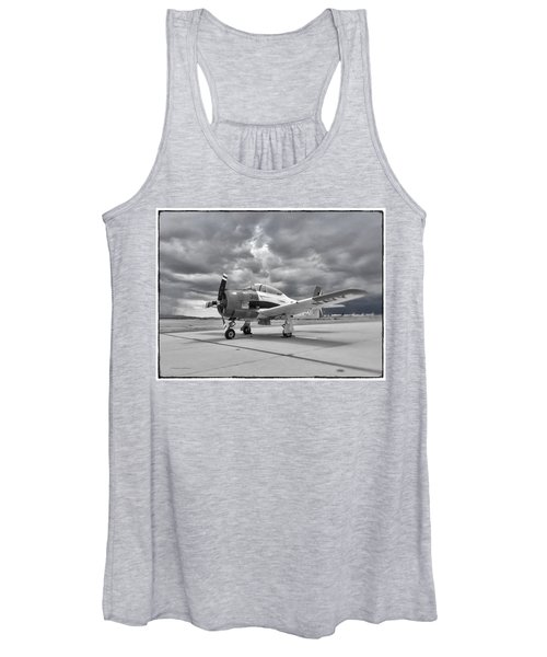 North American T-28 Women's Tank Top