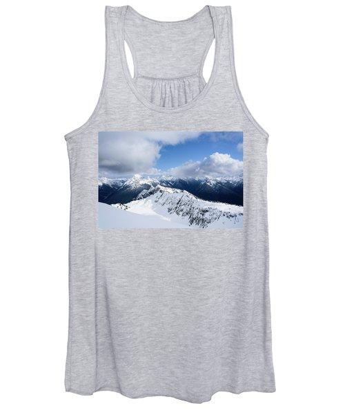 North Cascade Mountains Women's Tank Top