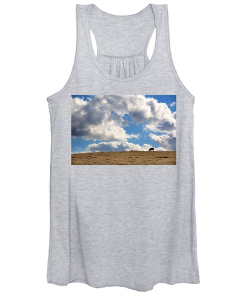 Not A Cow In The Sky Women's Tank Top