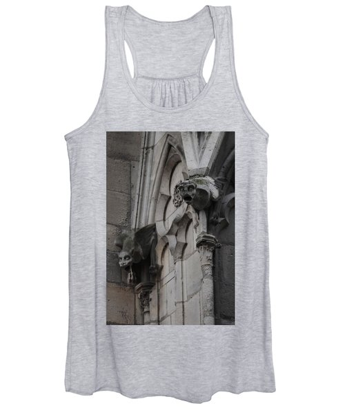 Notre Dame Grotesques Women's Tank Top
