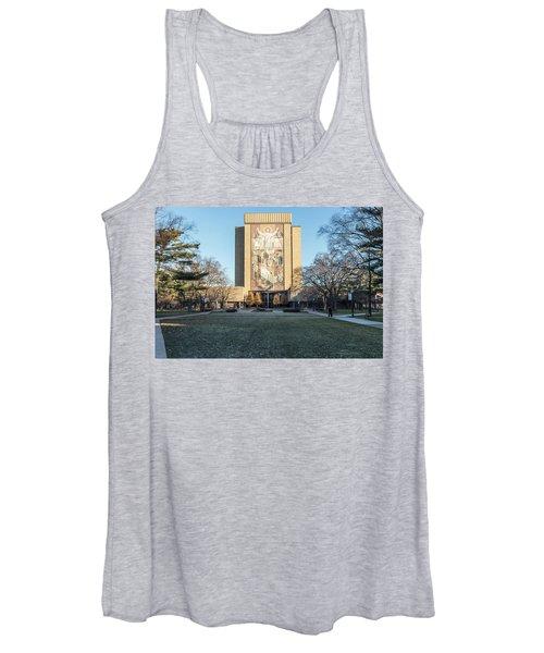 Notre Dame Touchdown Jesus  Women's Tank Top
