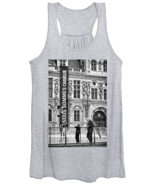 Nous Sommes Charlie Women's Tank Top