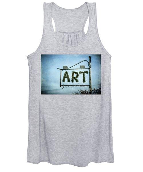 Now This Is Art Women's Tank Top