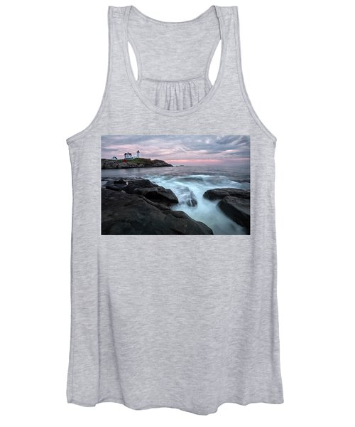 Nubble Lighthouse Of Maine Women's Tank Top
