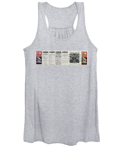 O And M Timetable Women's Tank Top