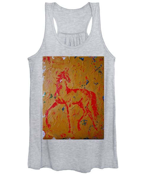 Ochre Horse Women's Tank Top