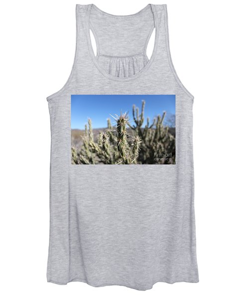 Women's Tank Top featuring the photograph Ocotillo by Antonio Romero