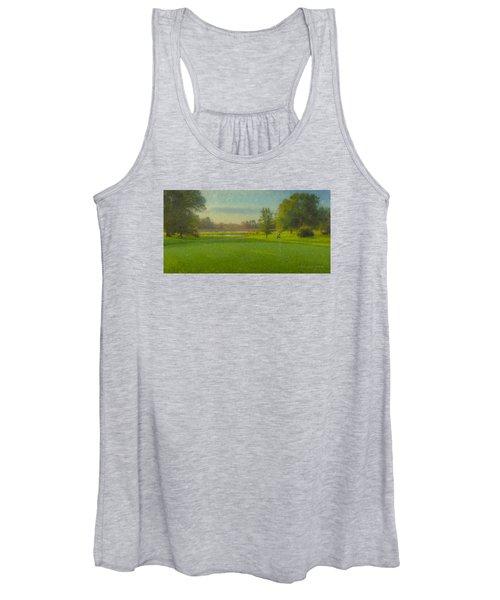 October Morning Golf Women's Tank Top