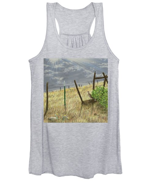 Odd Post Women's Tank Top