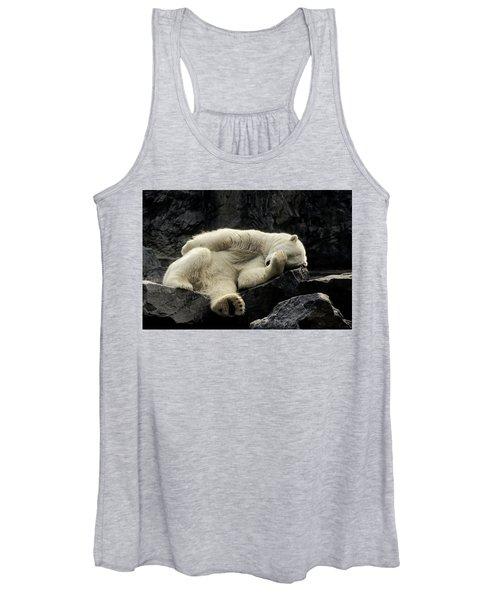 Oh What A Night Polar Bear Women's Tank Top