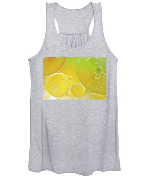 Oil And Water Bubbles  Women's Tank Top
