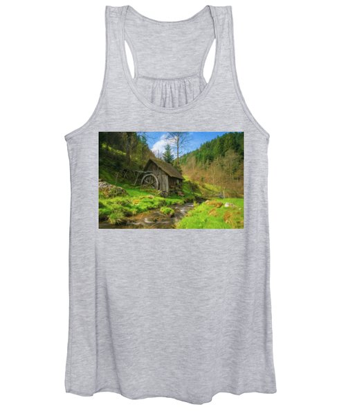 Old Black Forest Mill Women's Tank Top