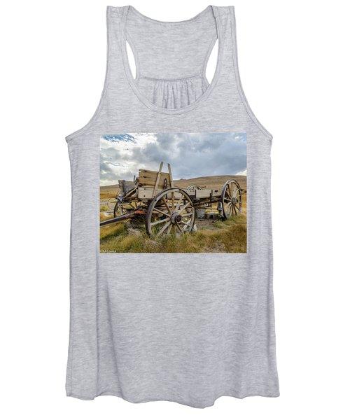 Old Buckboard Wagon Women's Tank Top