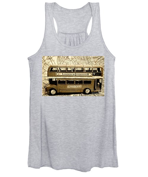 Old City Bus Tour Women's Tank Top