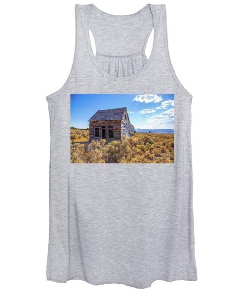 Old Farm House Widtsoe Utah Ghost Town Women's Tank Top