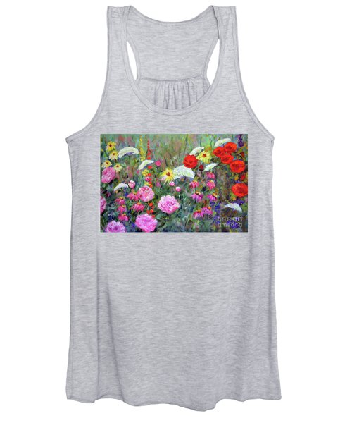 Old Fashioned Garden Women's Tank Top
