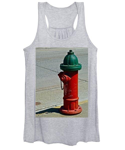 Old Fire Hydrant Women's Tank Top