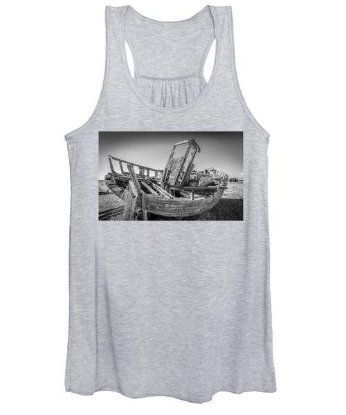Old Fishing Boat. Women's Tank Top