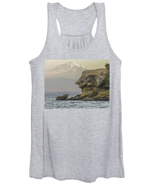 Old Man And The Mountain Women's Tank Top
