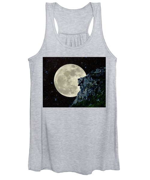 Old Man / Man In The Moon Women's Tank Top