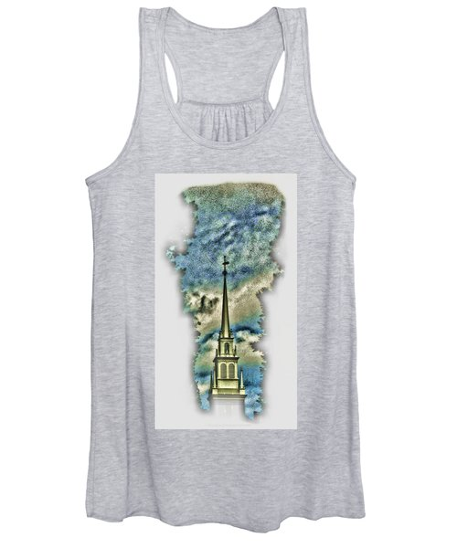 Old North Church Steeple Women's Tank Top