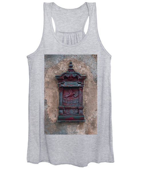 Old Vintage Mail Box Women's Tank Top