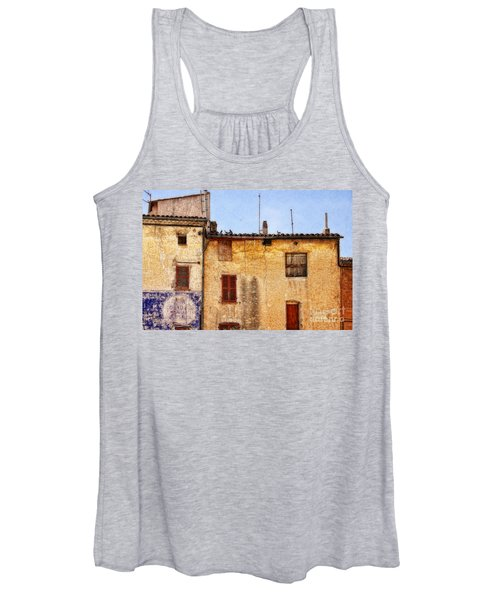 Old Walls In Provence Women's Tank Top