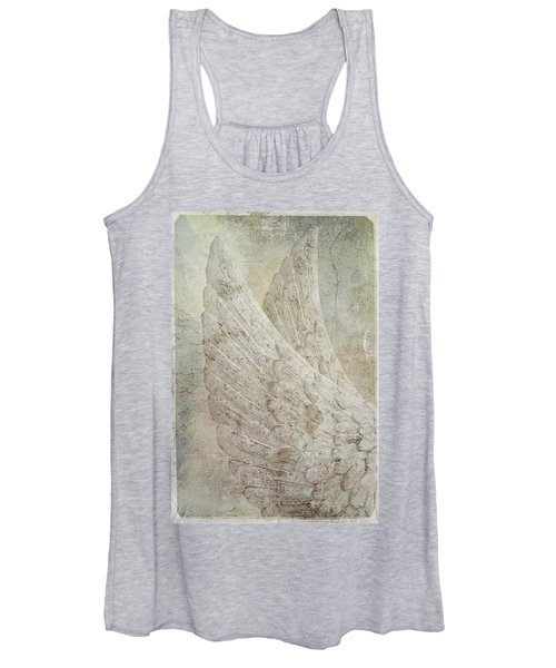 On Angels Wings 2 Women's Tank Top