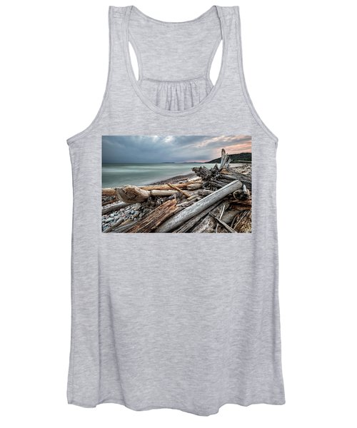 On The Beach Women's Tank Top