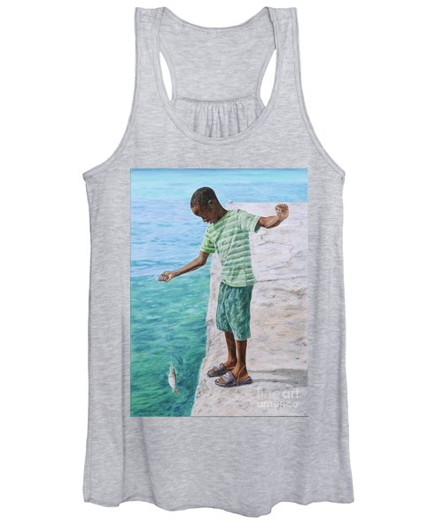 On The Line Women's Tank Top