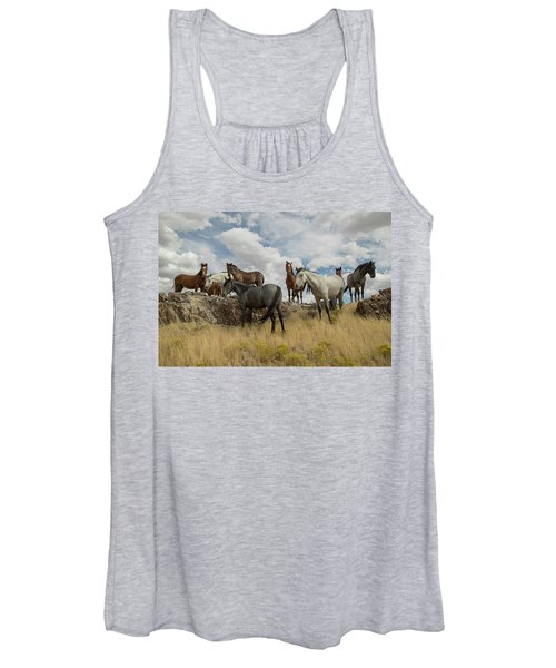 On The Mountain Top Women's Tank Top