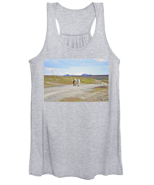 On The Way Women's Tank Top