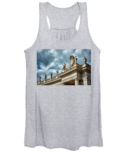 On Top Of The Tuscan Colonnades Women's Tank Top