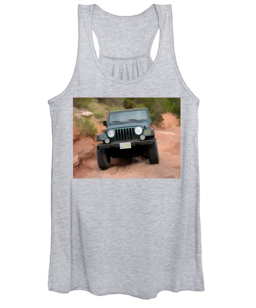Only Jeeps Here Women's Tank Top