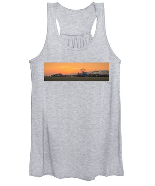 Orange Sunset - Panorama Women's Tank Top