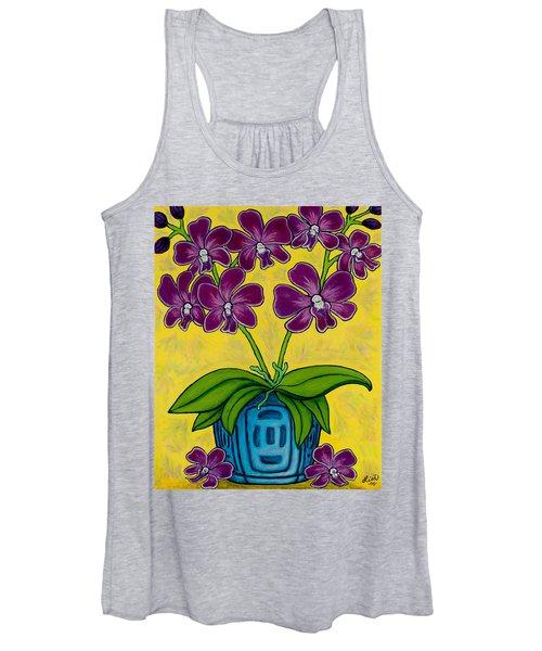 Orchid Delight Women's Tank Top