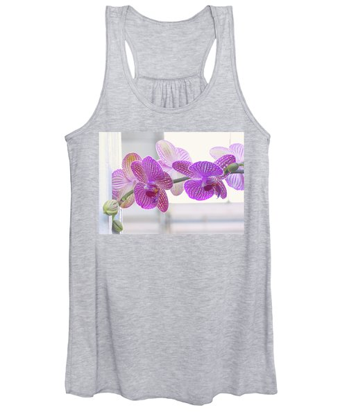 Orchid Spray Women's Tank Top