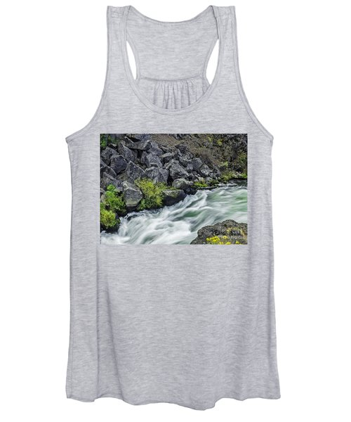 Oregon's Dillon Falls Women's Tank Top