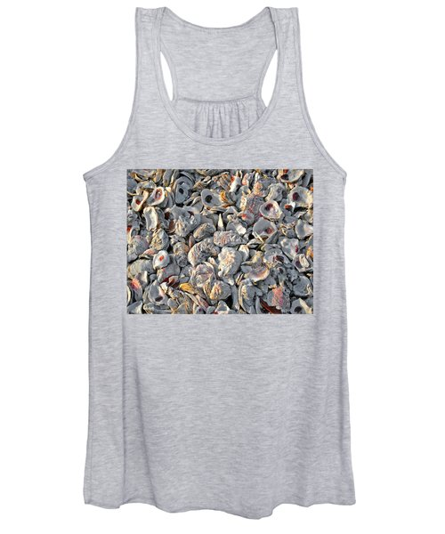 Oysters Shells Women's Tank Top